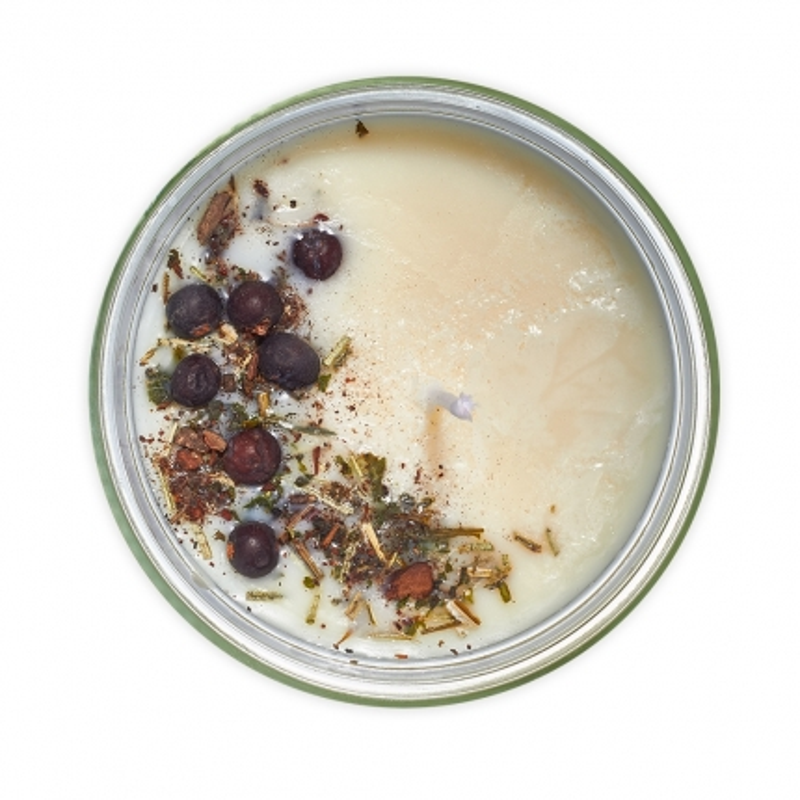 Pri prechladnutí - aromaterapeutická sójová sviečka