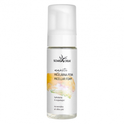 Moisturizing & Brightening Cleansing Micellar Foam for Normal and Sensitive Skin