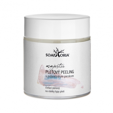 CLEANSING FACIAL FACE SCRUB WITH POLYNESIAN PINK SAND