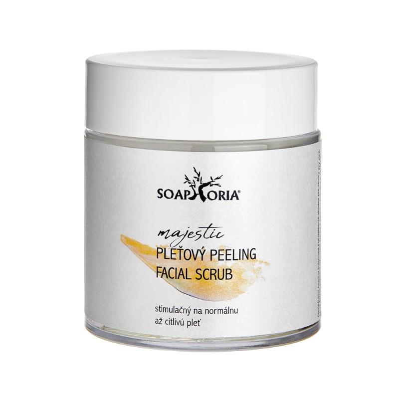Osviežujúci & stimulačný peeling na citlivú až normálnu pleť