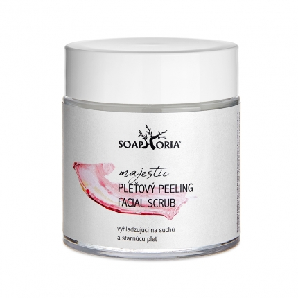 Facial Scrub for Dry and Mature Skin