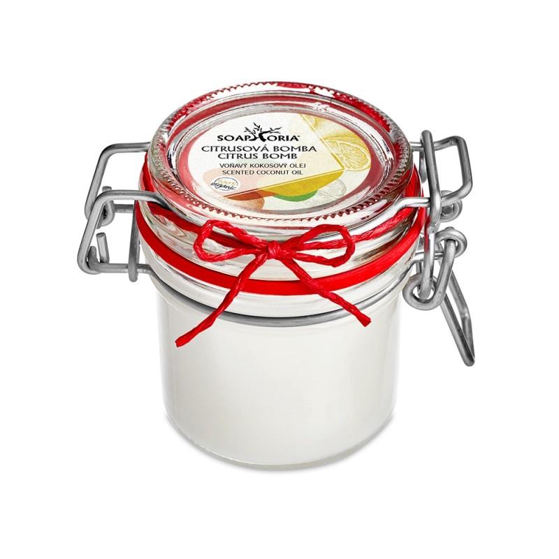 Citrus Bomb - Scented Organic Coconut Oil