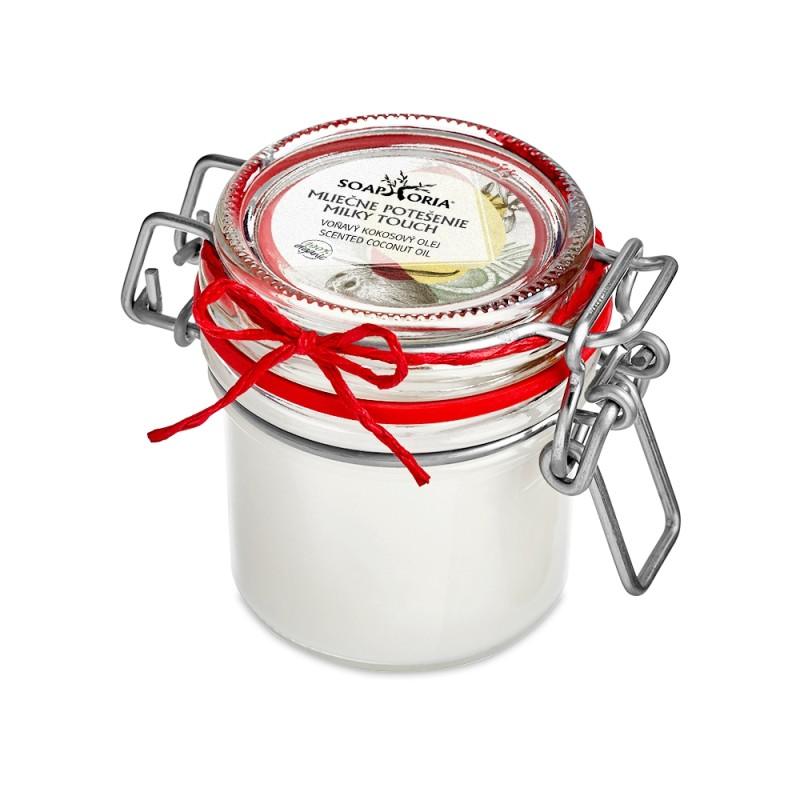 Mliečne potešenie - voňavý organický kokosový olej