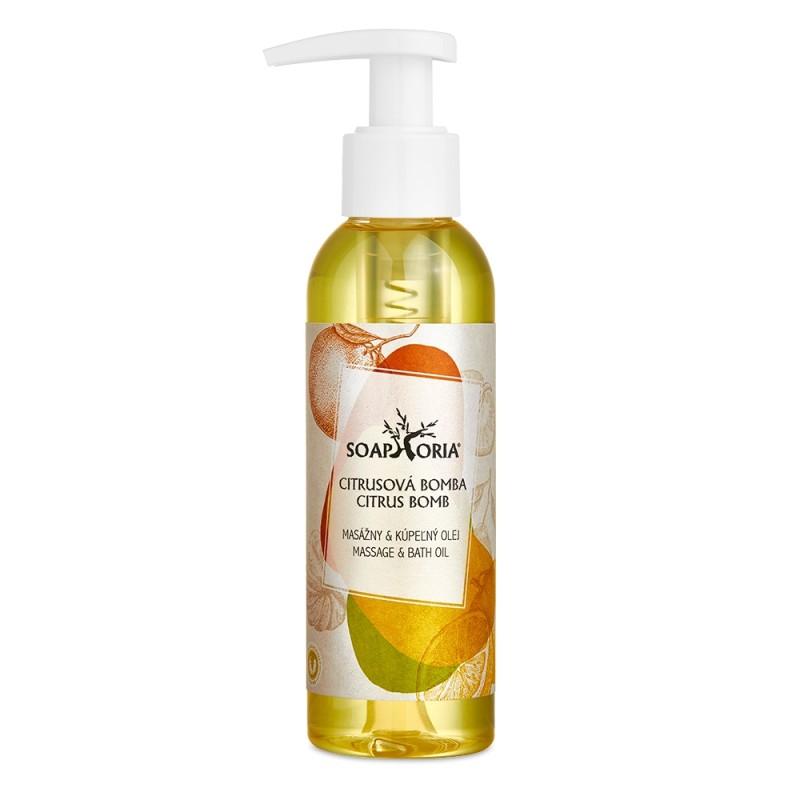 Citrusová bomba (Plody šťastia) - organický masážny olej