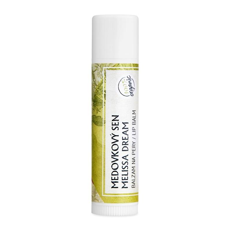 Medovkový sen - organický balzam na pery