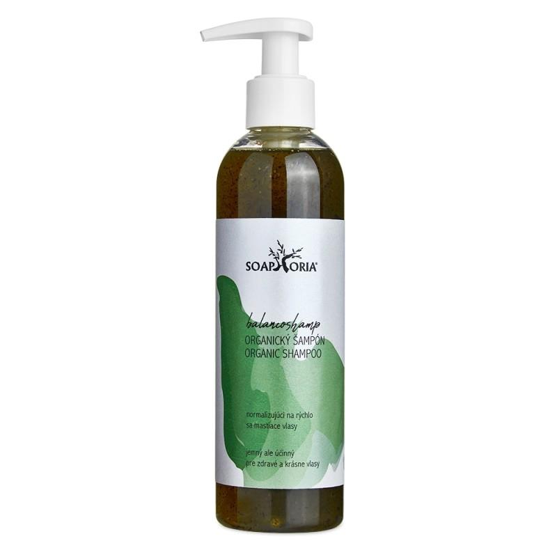 BalancoShamp - organický tekutý šampón na mastné vlasy