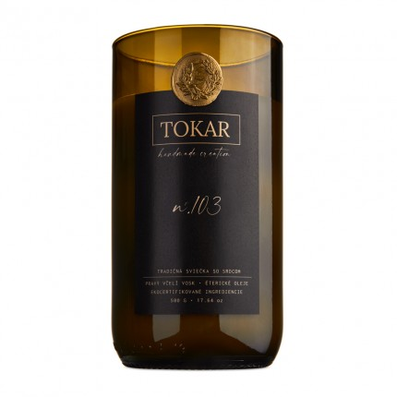 TOKAR Handmade Creations - Eco Candle N.103